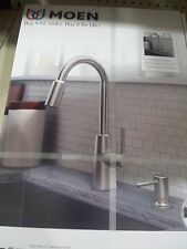 Moen Nori Spot Resist Stainless One Handle Pulldown Kitchen Faucet #87066SRS