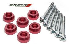 SKUNK2 Lower Control Arms Dress-Up Washers Red 90-01 Integra/88-00 Civic EG
