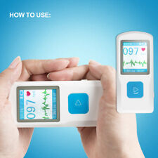 Pm10 Portable Ecg Ekg Machine Heart Beat Monitorusb Bluetoothcolor Lcd Fda