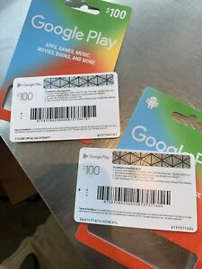 Google Play 200 USD Gift Card