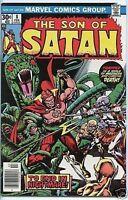 Son Of Satan 1975 series # 8 fine comic book