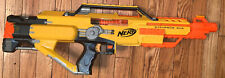 NERF N-Strike Stampede ECS Auto Blaster Dart Gun  Orange Yellow
