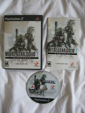Metal Gear Solid 2 Substance PS2 Playstation 2