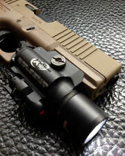 Airsoft X400 LED High Output Light Weaponlight/Laser for Pistol Picatinny BLACK