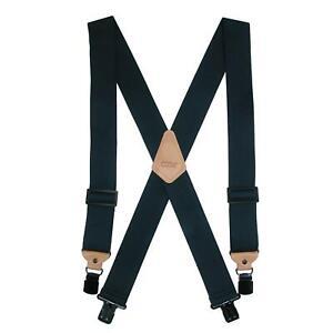 New CTM Men's Heavy Duty Clip-End Work Suspenders