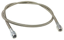 "Braided Stainless AN Brake Line 36"" -4 Straight Ends #1310"