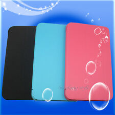 """Leather Case Stand Cover Tri-Fold Ultra Slim For 7"""" HP Stream 7 Tablet PC"""