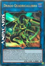 DRAGO QUADRICALLIBRO (Quadborrel Dragon) • Ultra R • SDRR IT043 Yugioh ANDYCARDS