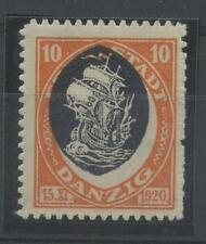 Mint Hinged Single George V (1910-1936) European Stamps