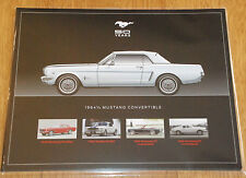 Mustang 50th Anniversary Lot of 8 picture hero cards, RARE!  Boss, Mach, 2015