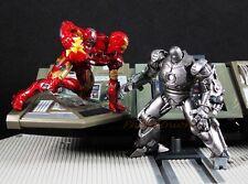 Kaiyodo Capsule Q Figure IRON MAN Mark III 3 vs Monger Japan Marvel A604_A605