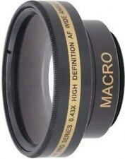 Wide Lens for Sony DCR-SR75 DCRSR75E DCRSR45E DCR-SR75E DCR-SR290E DCR-SR220E