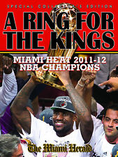 A Ring For The Kings Miami Heat 2012 NBA Championship Book (Hardcover)