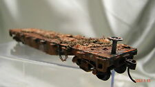 12  Unloaded Logging Car- custom weathered  lot  AA  realistic,original look- HO
