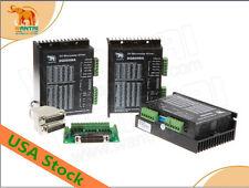 USA FREE 3pcs Nema34 stepper motor driver DQ860MA 24-80V7.8A  256Micro hot sell