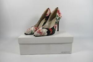 KAREN MILLEN Summer Classy Floral Stiletto Court ShoesUK5 EU38 Boxed