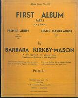 "Barbara Kirkby-Mason :"" Erstes Klavier-Abum "" Teil 3"