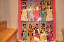 Maravillosa Princesas De Disney Juego De 10 Muñecas clásico-Blancanieves, Cenicienta, Etc
