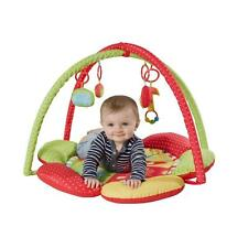 Red Kite Safari Baby Play Gym Playmat Activity Play Mat with Hanging Toys New