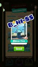 Coin Master Cards Aquarium Set Card Fisheye View (x 1 card)
