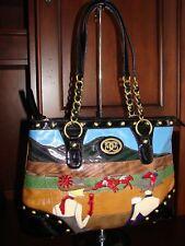 Original Sharif Handbag Shoulder Bag Day at the Races Horse Race Ladies Big Hats