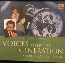 Voices Over The Generation CD.Kishore. Sanu. Shaan. Saregamu India. STILL SEALED