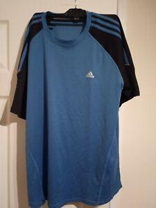 Adidas Clima365 Blue Shirt Activewear Size X-Large