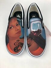 Vans Footwear Custom Culture Classic Slip On  Tattoo girl Mens 11.5 EUR 45.0