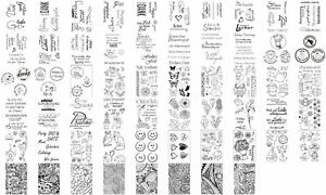 efco Silikon Stempel clear stamps   - Auswahl 1