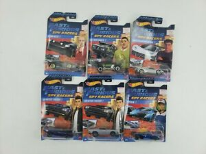 Hot Wheels Fast and Furious Spy Racers complete  Car Set w McAlisters Superfin