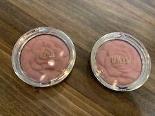 Milani Powder Blush 08 Tea Rose New & Sealed 0.60 oz Set Of 2