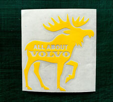 volvo shield decal moose elk sticker interior exterior animal sticker jdm