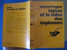 Layton et la Valse des Espionnes - Michael Logan - 1968 - E.O