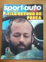 sport auto n°144 1974 MASERATI BORA - LIGIER - ALPINE - SANS POSTER