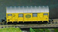 FLEISCHMANN 8332   ASG covered goods wagon    N Gauge   (3)