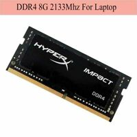 HyperX HX421S13IB2//8 Impact Bk 8GB 2133MHz DDR4 260-pin SODIMM Unbuffered