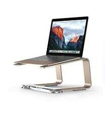 Griffin GC42028 Elevator Desktop Stand for Laptops - Matte Gold / Clear