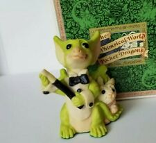"""It's Magic"" Whimsical World Pocket Dragons Real Musgrave w Box"