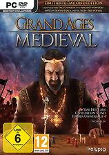 Jeux Pc Grand Âges : Médiévale Limitée Day 1 Édition Expédition DVD Produit Neuf