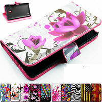 Multifunction Flip Leather Wallet Slot Cell Phone Cover Case For Nokia Lumia 630