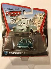 Mattel Disney Pixar Cars 2 PROFESSOR Z Zundapp #6 Car 1:55 Scale Rare