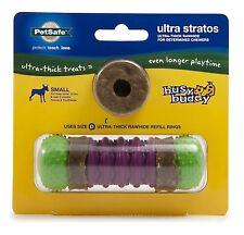 PetSafe Busy Buddy ULTRA STRATOS Dog Toy Treats Ultra-Thick Rawhide Small