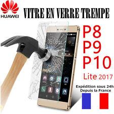 Vitre protection Film protecteur écran VERRE TREMPE  HUAWEI P10/P9/P8/Lite 2017