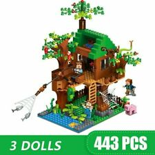 Bausteine kompatibel LEGO Minecraft Baum Haus Meine Welten Dorf Ziegel Spielzeug