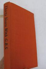 British Dramatist Author Biography 30 Years Gbs George Bernard Shaw Dj 1st 1951