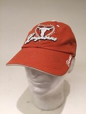 Womens Sequin TEXAS LONGHORNS Adjustable Closure Baseball Hat Cap Rare