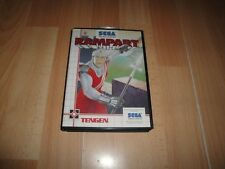 Sega Master System Rampart completo