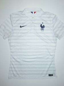 2014-2015 World Cup France Nike Authentic Away Player Kit Shirt Jersey Les Bleus
