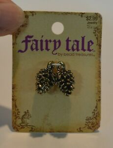 Fairy Tale by Bead Treasures - Pine Cones - Charm NEW