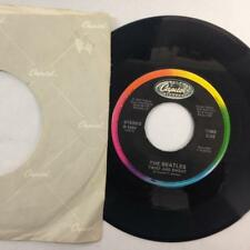 THE BEATLES 45: Twist And Shout / There's A Place, NM Capitol 5624 Rainbow Label